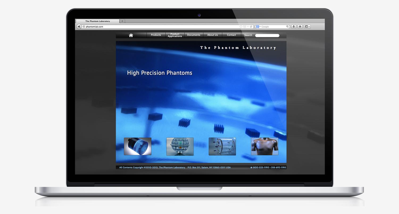 Phantom Lab website