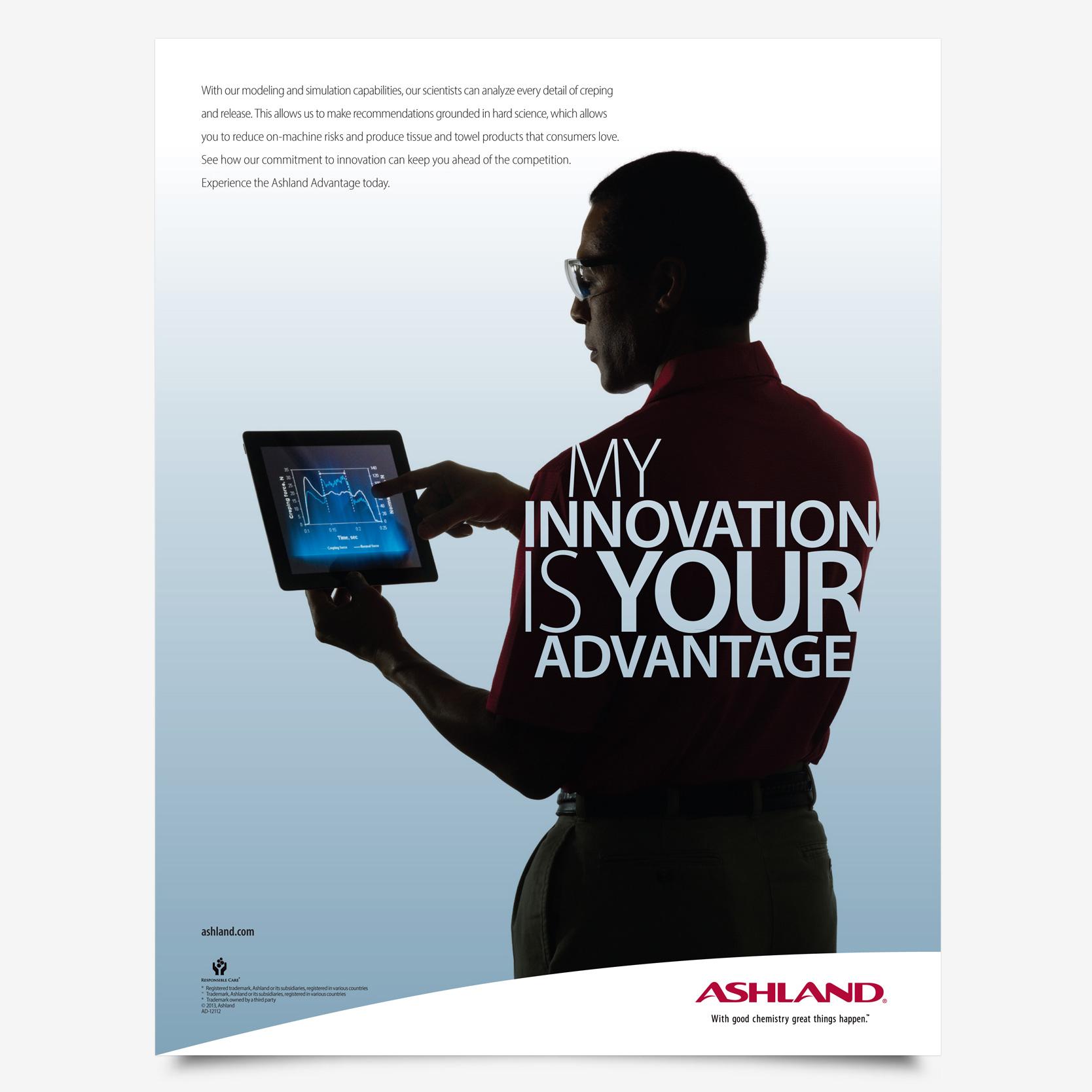 Ashland global advertising