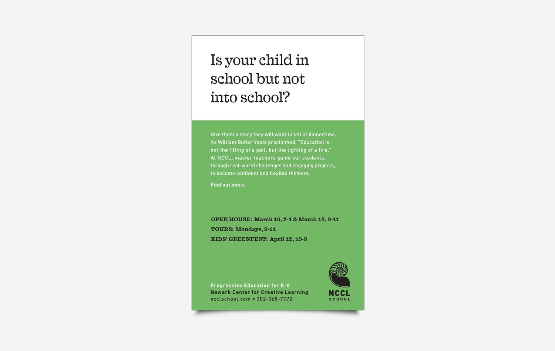 NCCL print ads