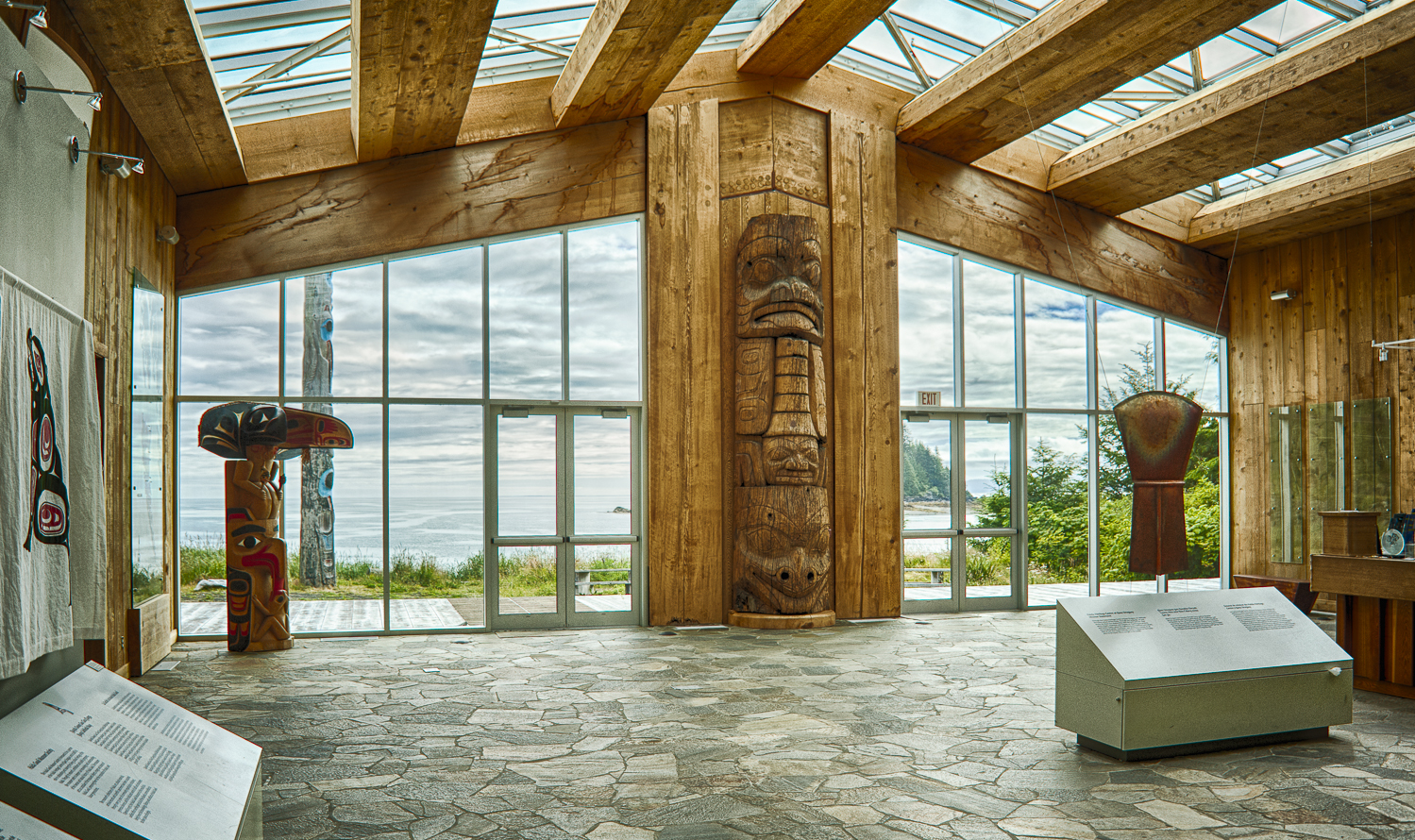 Kaay Centre in Skidegate