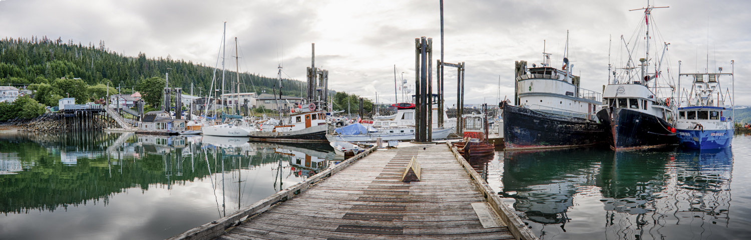 The docks at Queen Charlotte