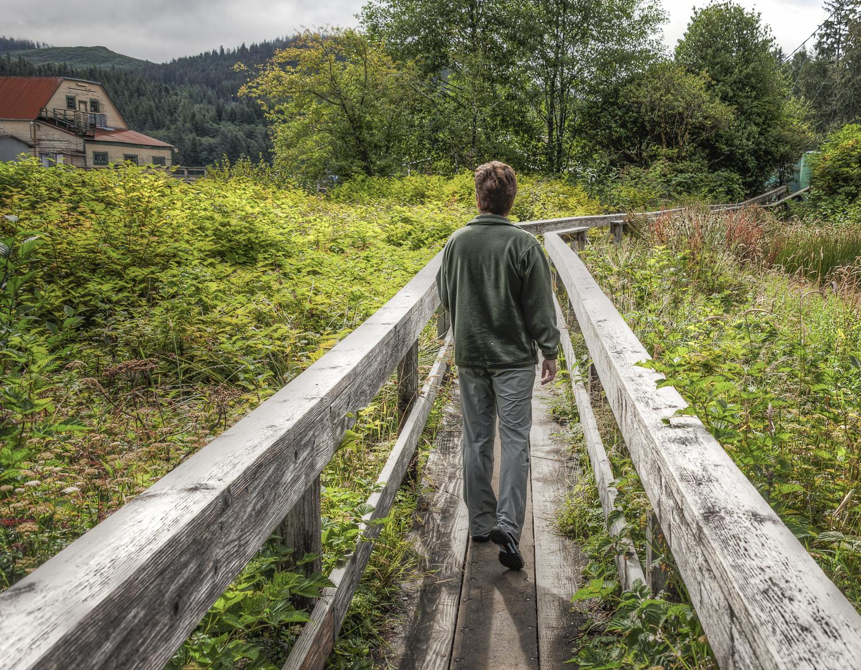 Taking the boardwalk shortcut