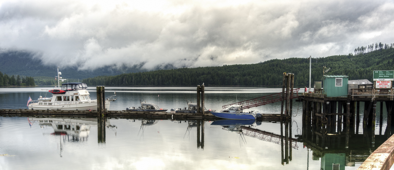The docks at Winter Harbour