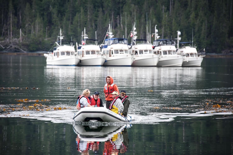 Jordan ferries the fleet in