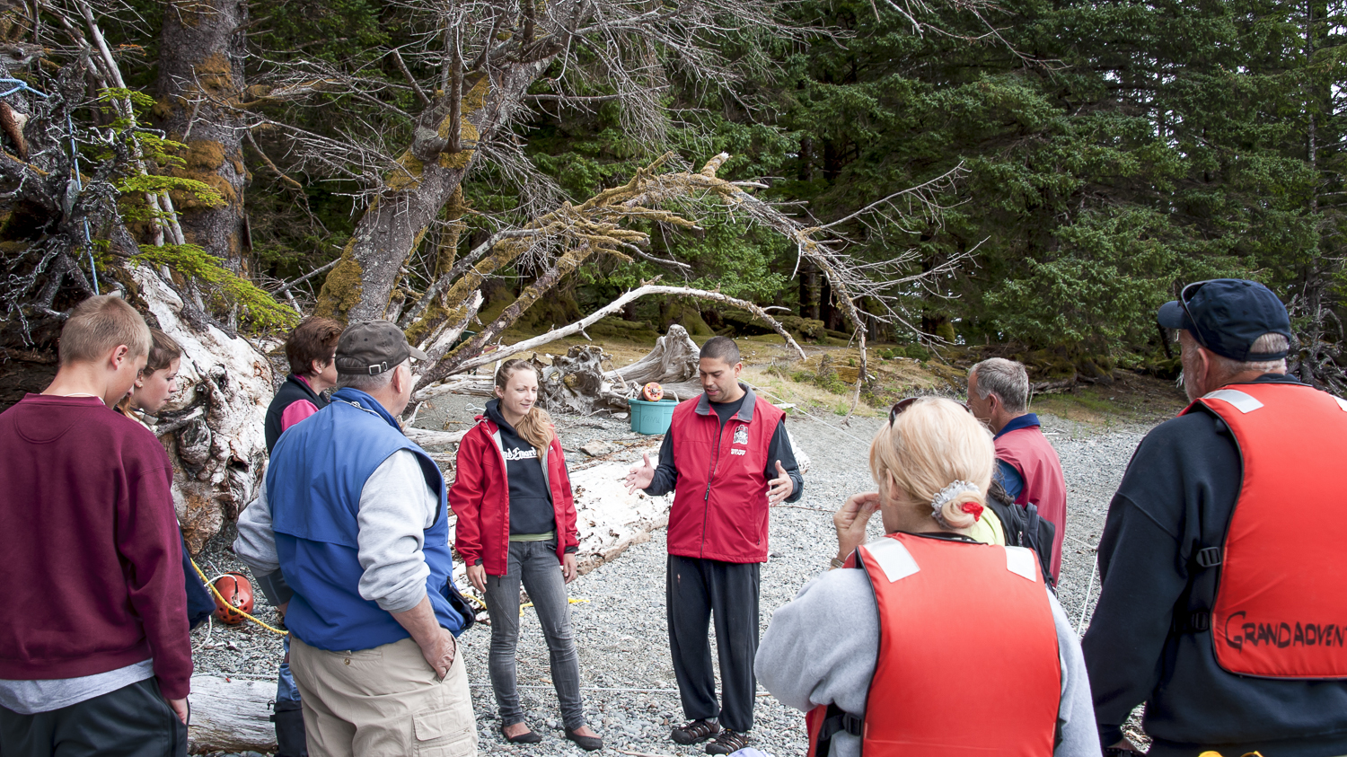 Watchman Sean shares his passion for the history of the Haida