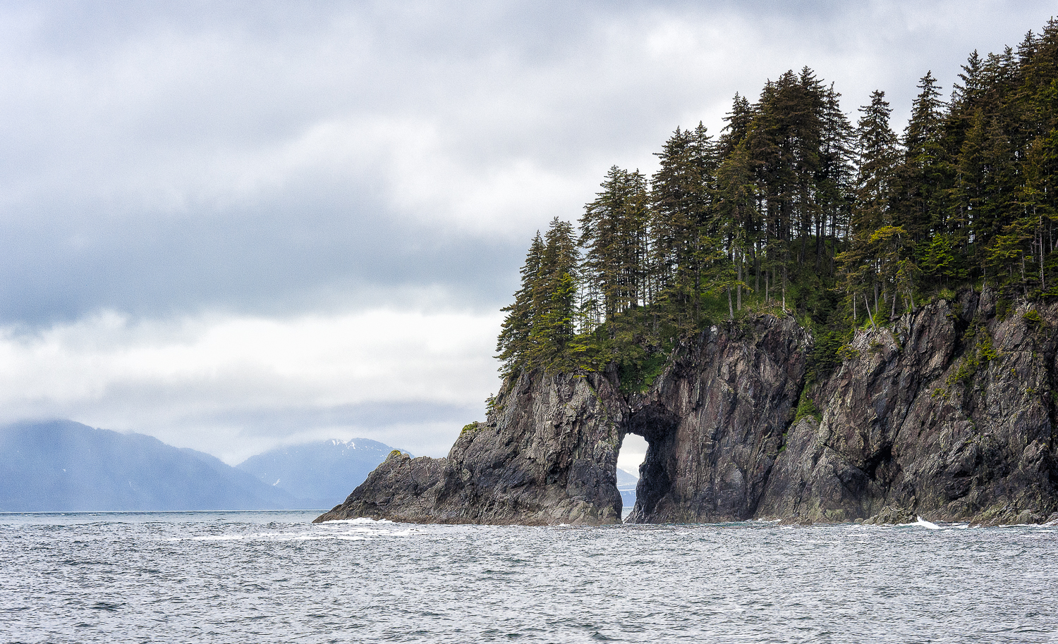 Sea Caves populate the west coast as a tribute to the power of seawater erosion.