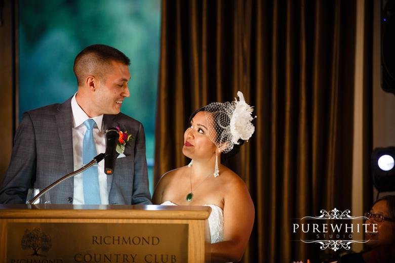 The_Richmond_Country_Club_Wedding_Reception009