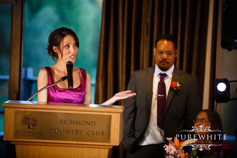 The_Richmond_Country_Club_Wedding_Reception016
