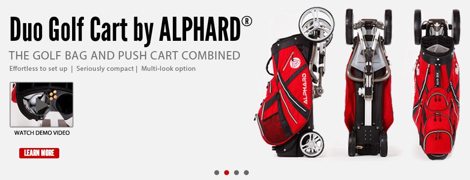Alphard Duo Cart - Award Winning Golf Push Cart