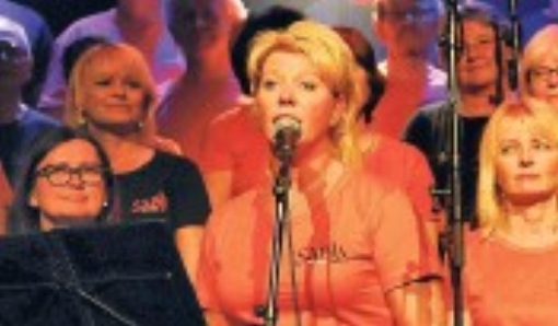 """Korets egen Nina Bergei var solist på """"Innerst i sjelen"""""""