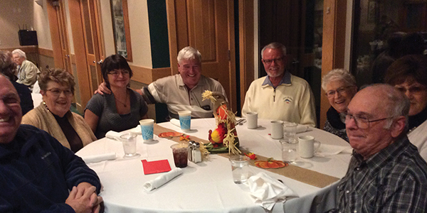 Image Top: Annual B.I.G. (Blessed In God) Dinner at the Grants Pass Golf Course.