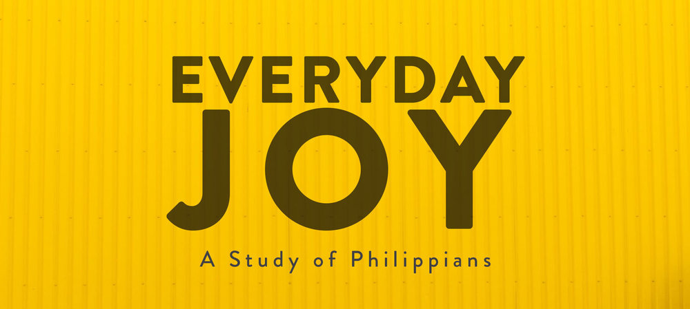 """Current Sermon Series  """"Everyday Joy: A study of Philippians""""   Joy is at the heart of the Christian life. Please join us as we discover how God's grace and peace enable people to celebrate and have calm delight in the midst of the everyday challenges of life."""