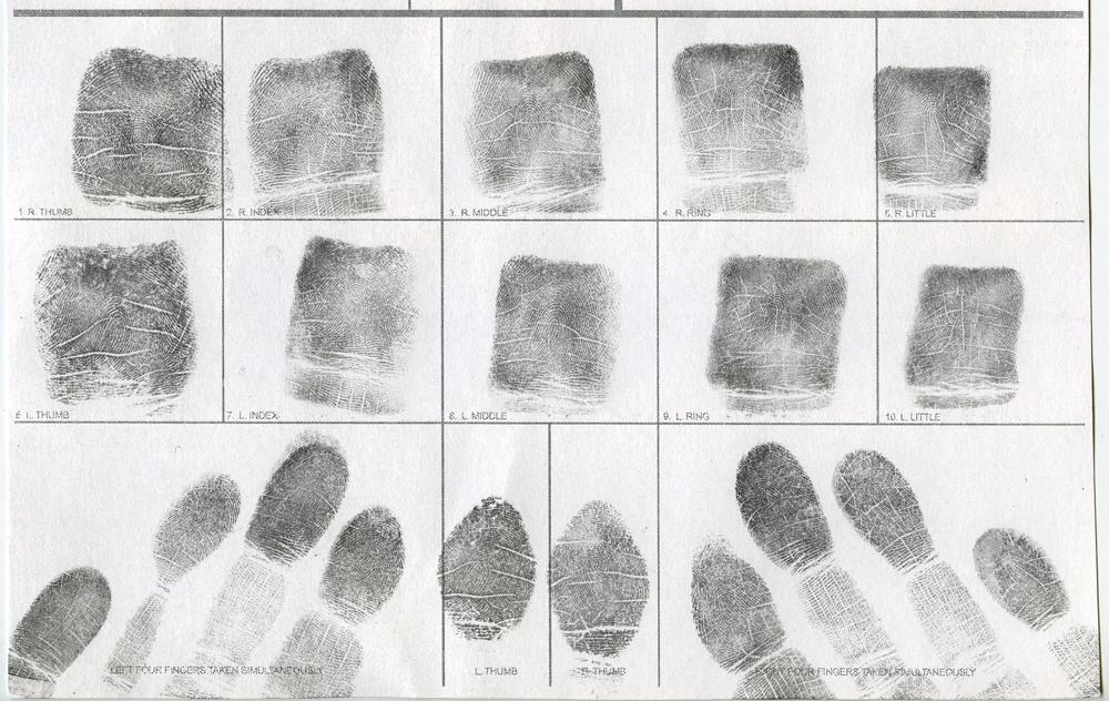 Jessamyn Lovell,  Fingerprints (2011)