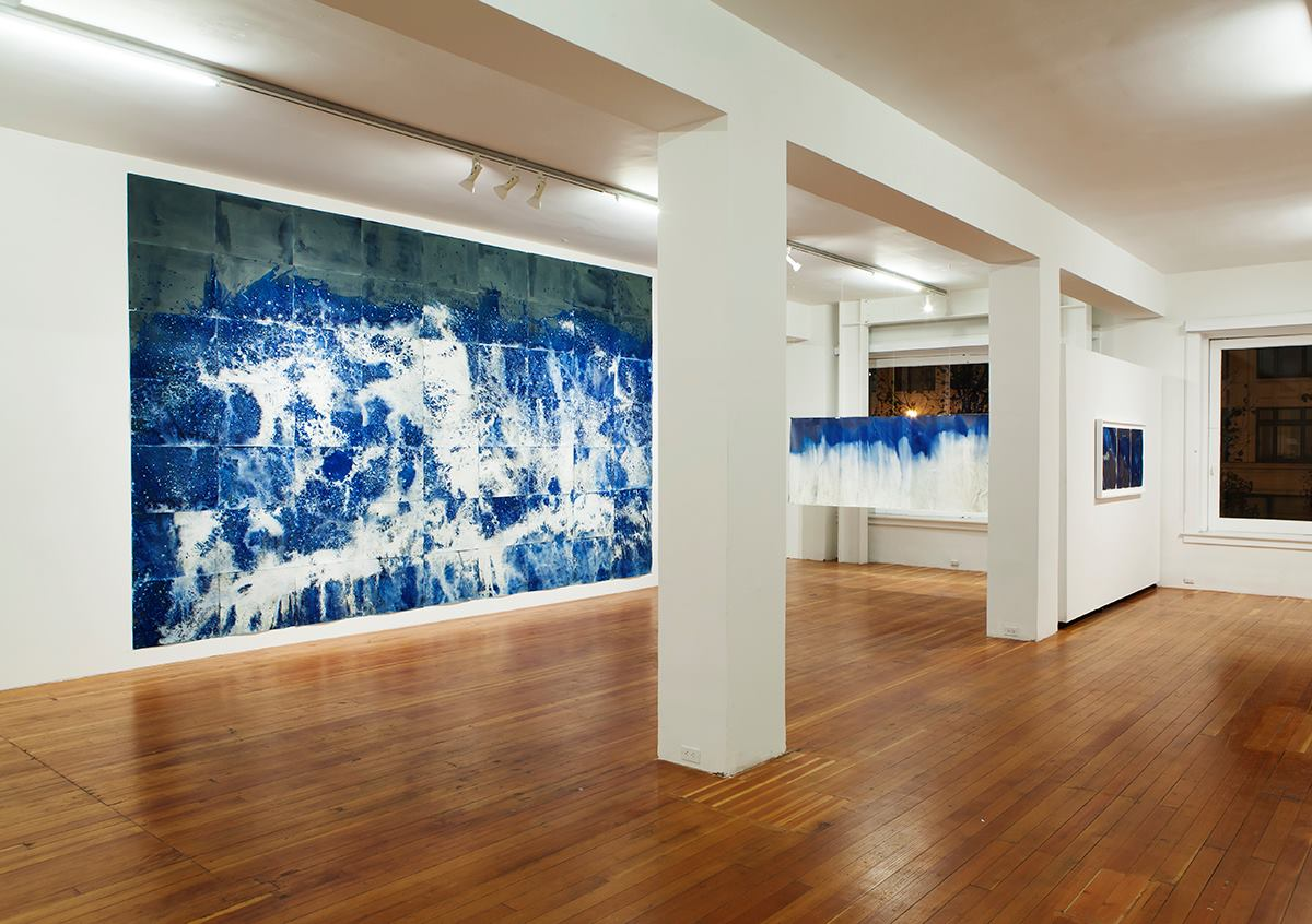 Littoral Drift   installation view. Image courtesy of the artist.