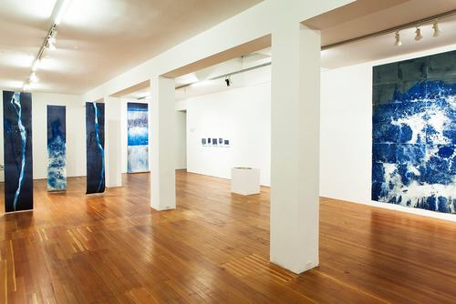 """Littoral Drift"" installation view. Image courtesy of the artist."