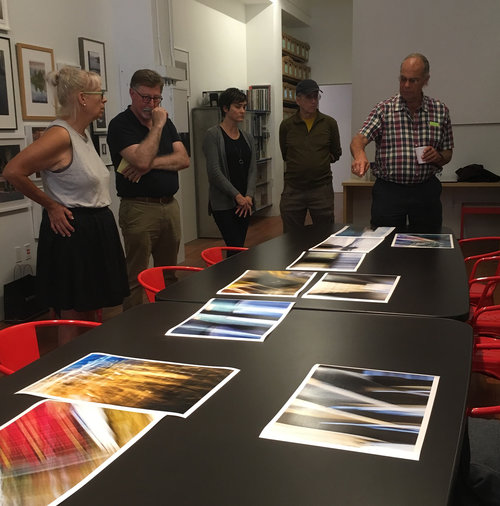 Image from August members' critique; photographs by Rusty Weston.