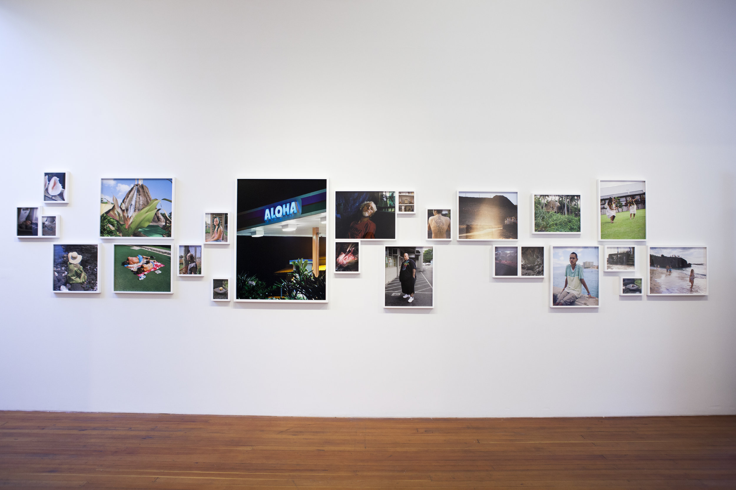 Installation Shot of Kevin Kunishi's work.