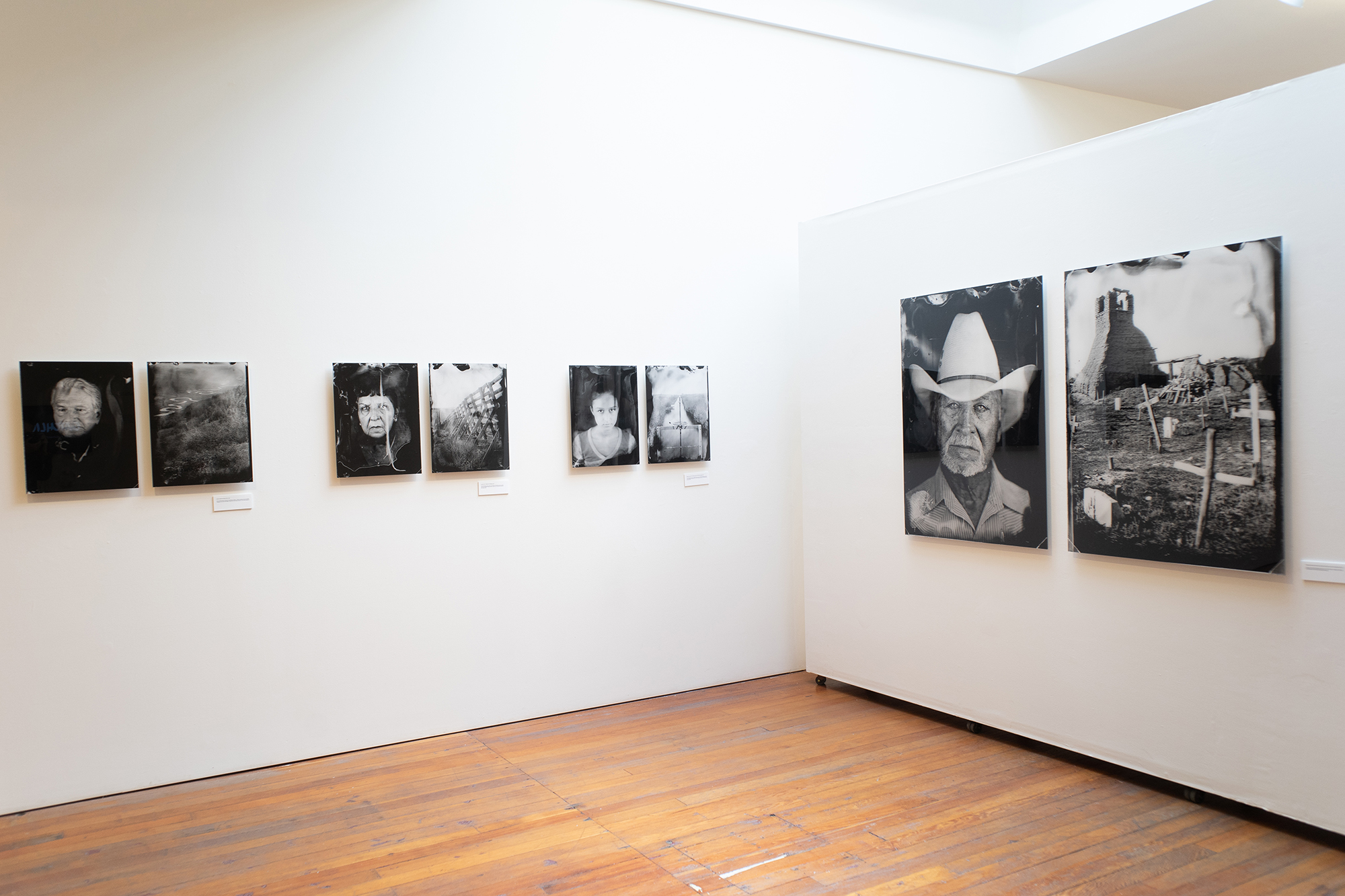 Installation view, Tomas Van Houtryve's  Lines and Lineage.