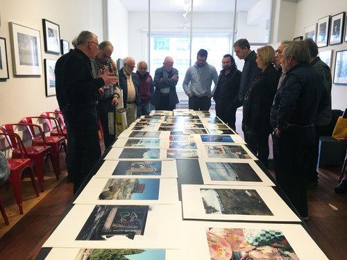 Stuart Gunn presents work at the SFC Members' Critique