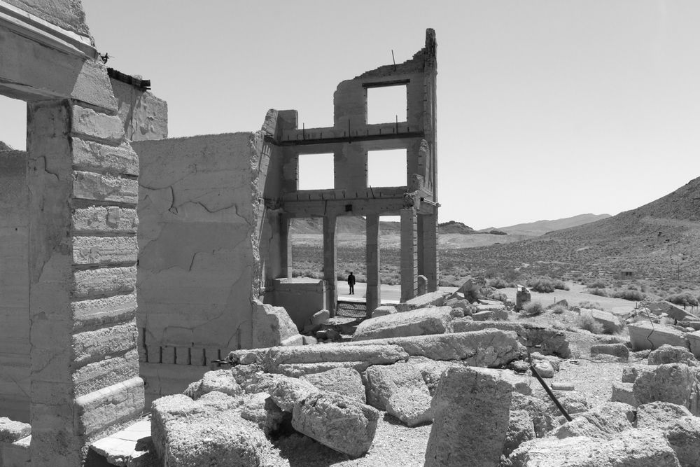 Johnnie Chatman,  Rhyolite (Self-Portrait)