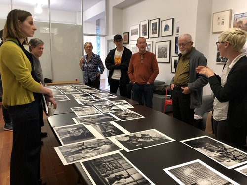 David Clarkson presents work at the SFC Members' Critique