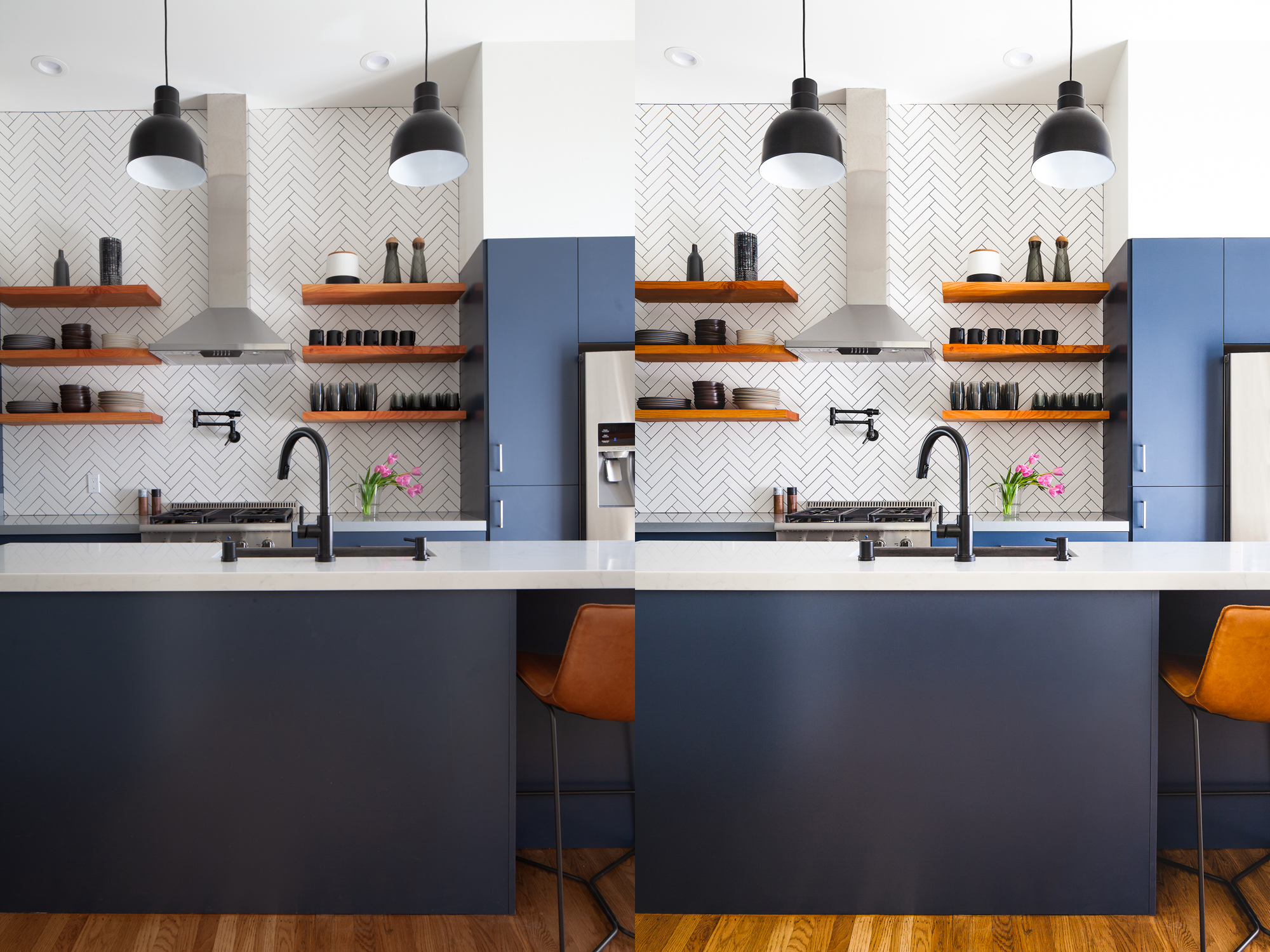 WORK INVOLVED: color correction, multi-image composite, perspectival correction.
