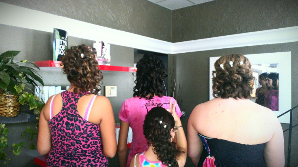 Bridal Party Up Do's