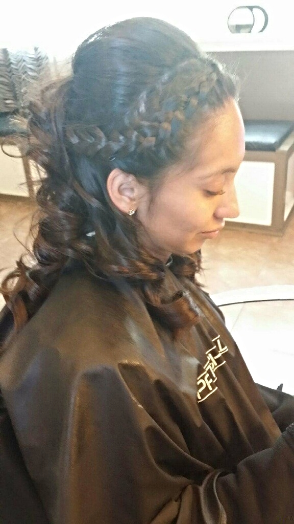 Wedding Up Do Hair Zoo Joliet