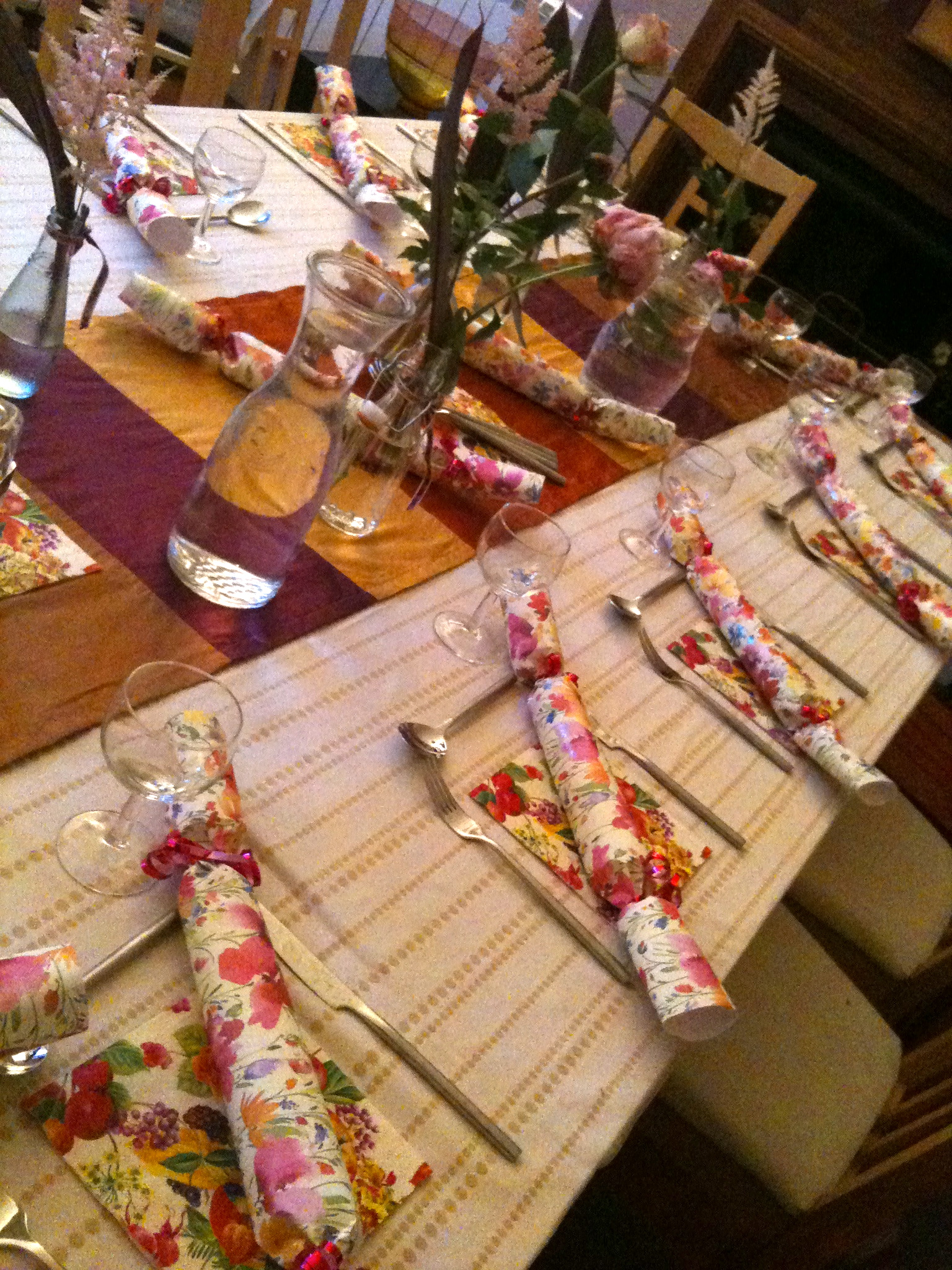 Zoe Hewett Interiors Wedding Tablescapes