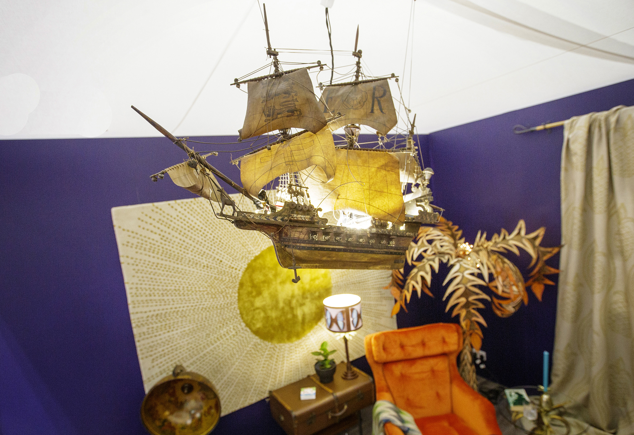 Upcycled Galleon Light