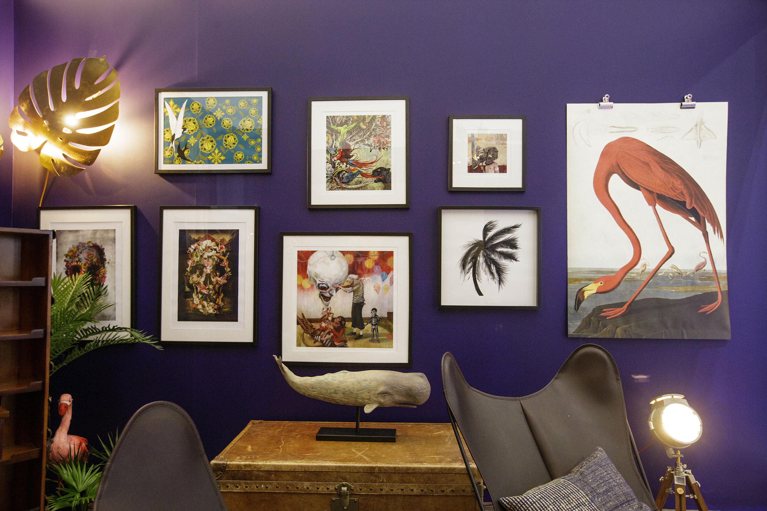 Neverland Gallery Wall