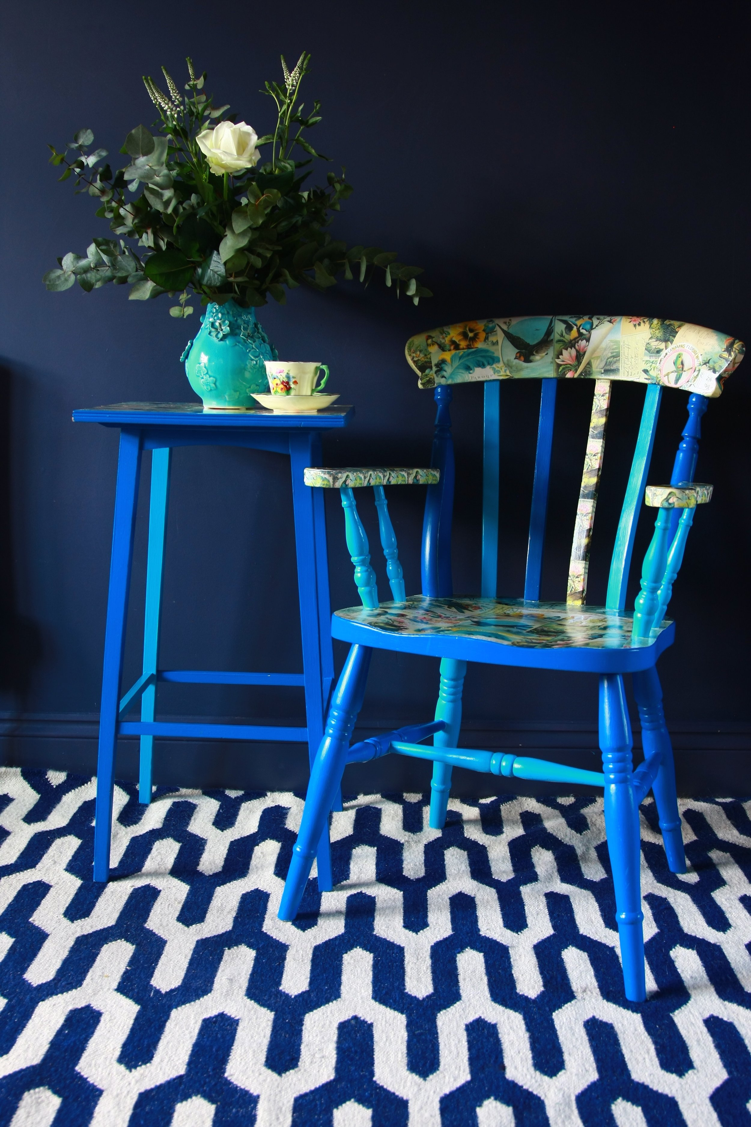 Zoe Hewett Interiors Blue Room