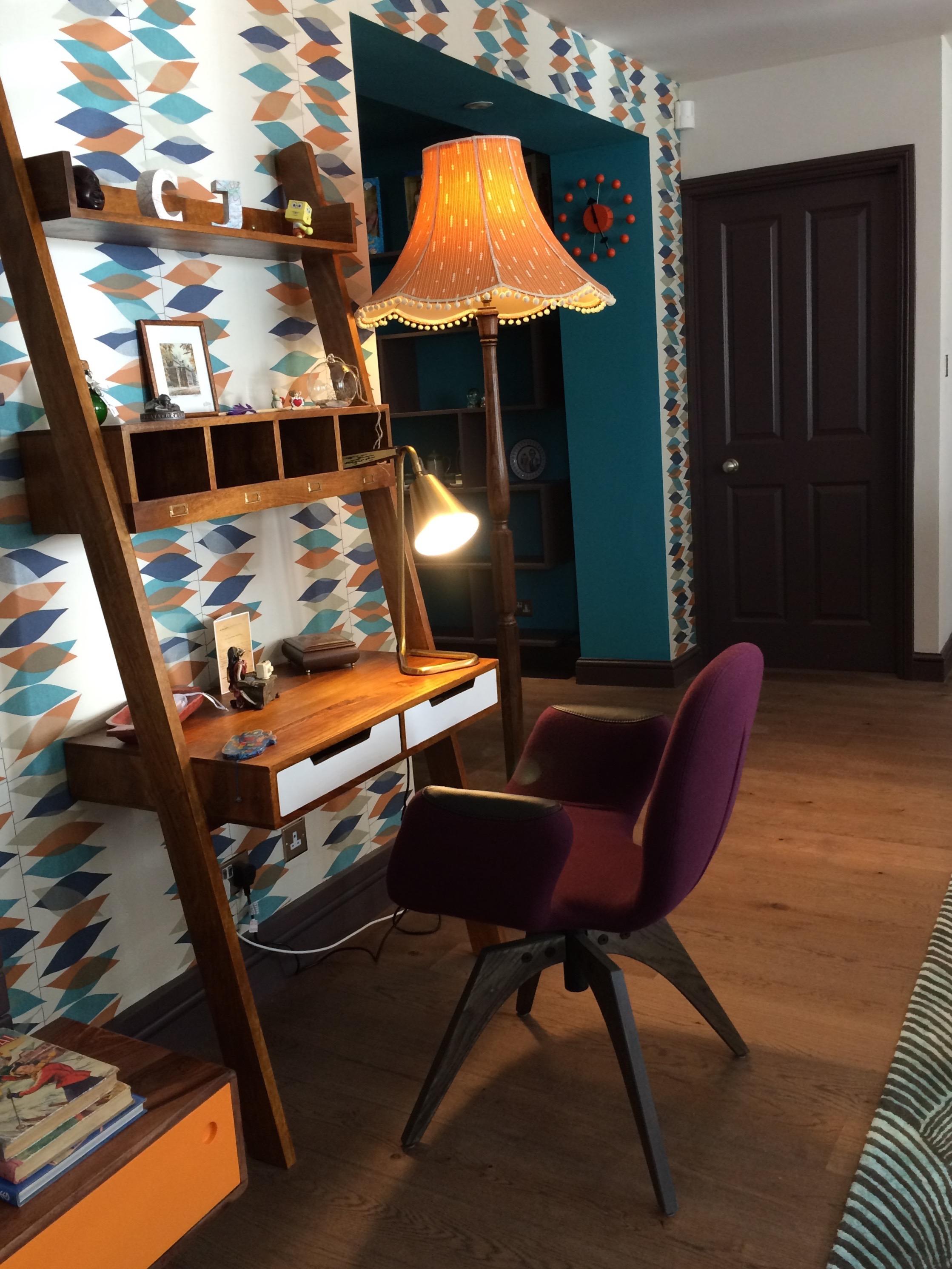 Zoe Hewett Interiors Writers Den
