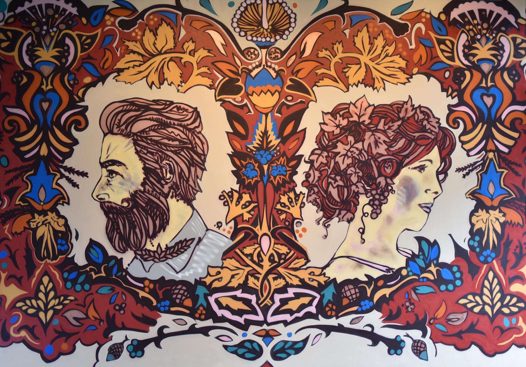 Graft Workshop Mural