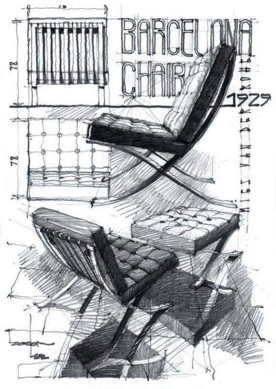 The Barcelona Chair by Ludwig Mies Van Der Rohe and Lilly Reich
