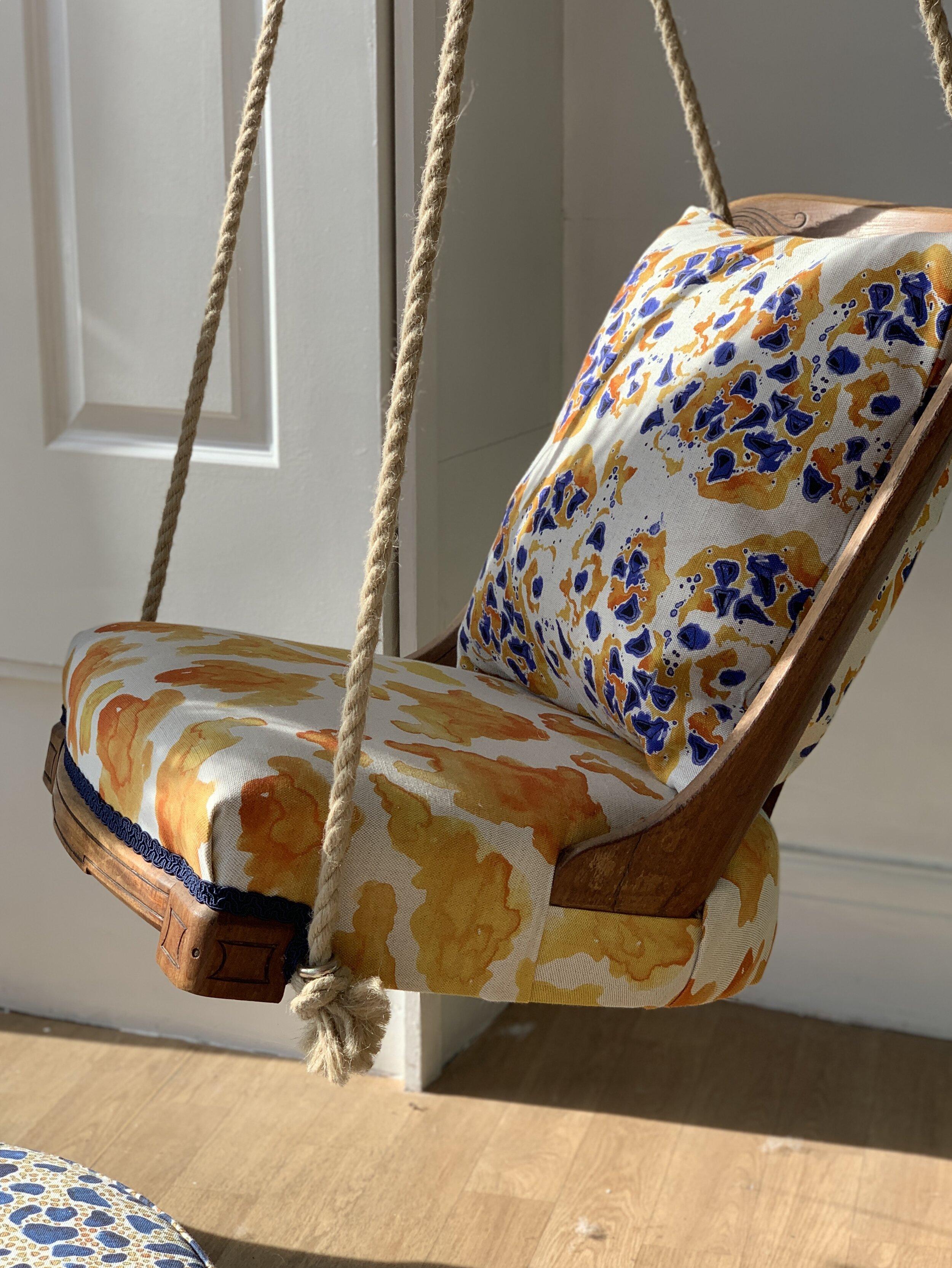 Bethie Tricks Textile Design Swing Seat