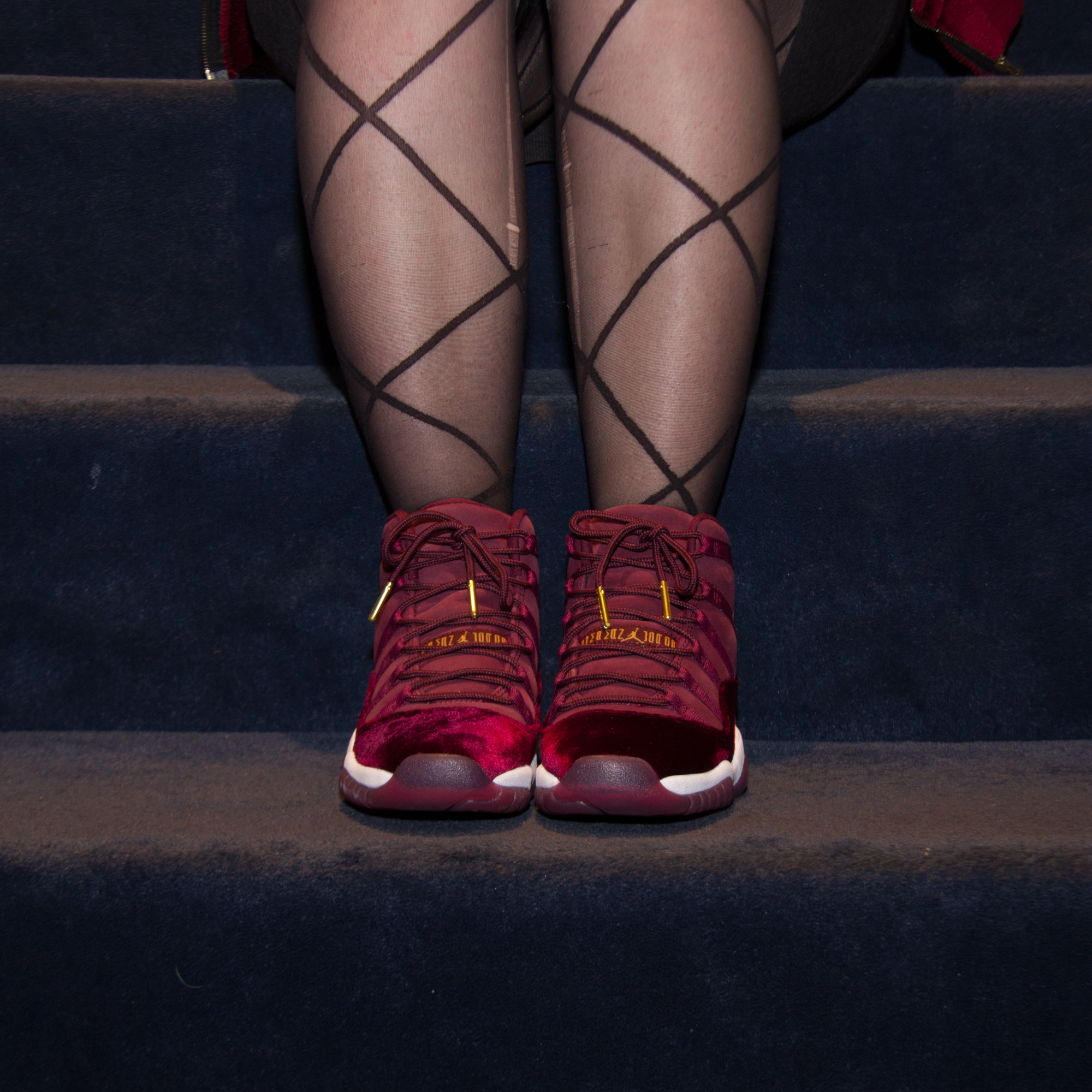pretty nice 84705 7a89b shegotgame - Is that (Red) Velvet? Styling the new Air ...