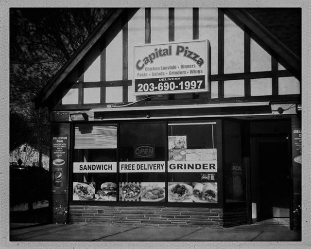 Sandwich Free Delivery Grinder⁣ ⁣.⁣ ⁣.⁣ ⁣.⁣ ⁣.⁣ ⁣.⁣ ⁣#bw #bnw #bw_lover #monochrome #blackandwhitephotography #bnw_society #bw_photooftheday #bw_society #monoart #noir #street #architecture #city #bridgeport #connecticut #newengland #buildings #structures #path #iphoneography #iphone