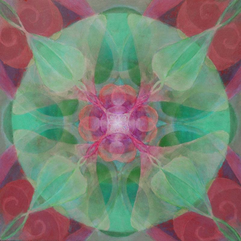 MANDALA OF ANGELIC RESONANCE PINK AND GREEN.jpg
