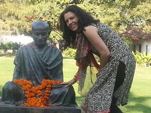 Gandhi and Margaret