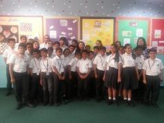 The Gandhi Experiment workshop at Tardeo, Universal School, Mumbai