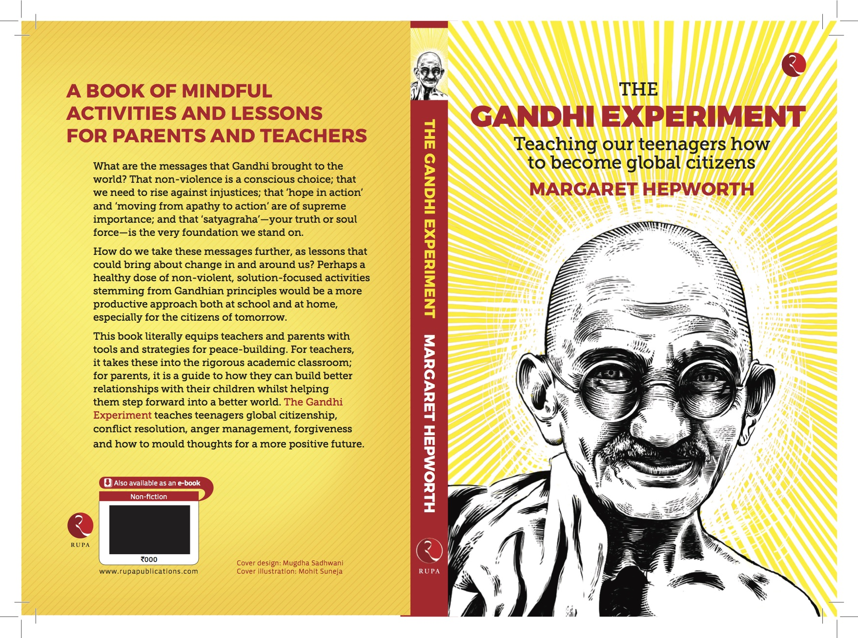 The Gandhi Experiment - publication date July 1, 2017.