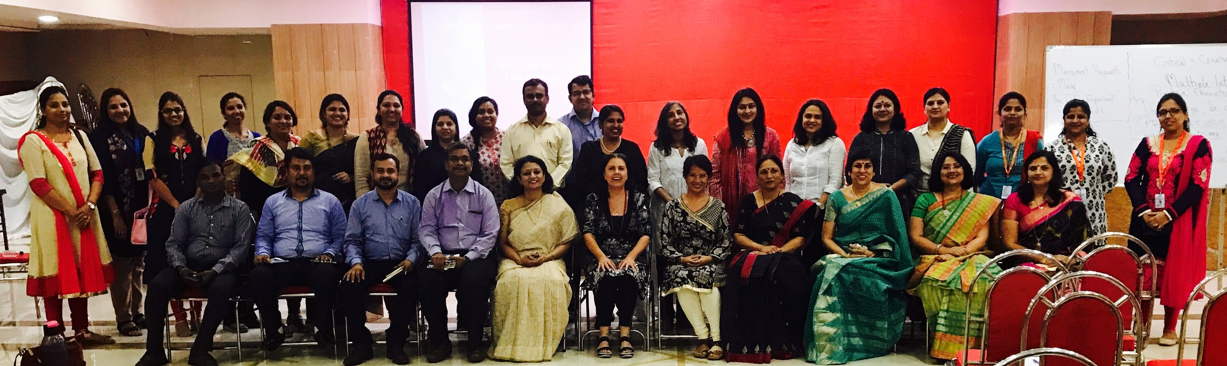 Global Citizenship - it starts with us! teacher training workshop, Mumbai.