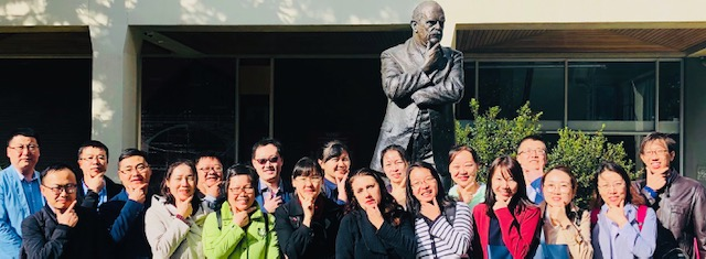 My team of visiting professors from Shihezi University, P.R.China - 'thinkers' at Monash University