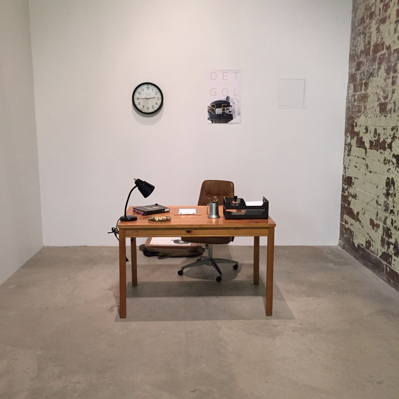 Detroit Gold Record recruitment office at MOCAD