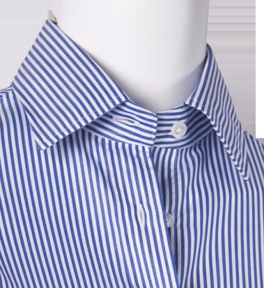Blusa Rayas Azul Blanco