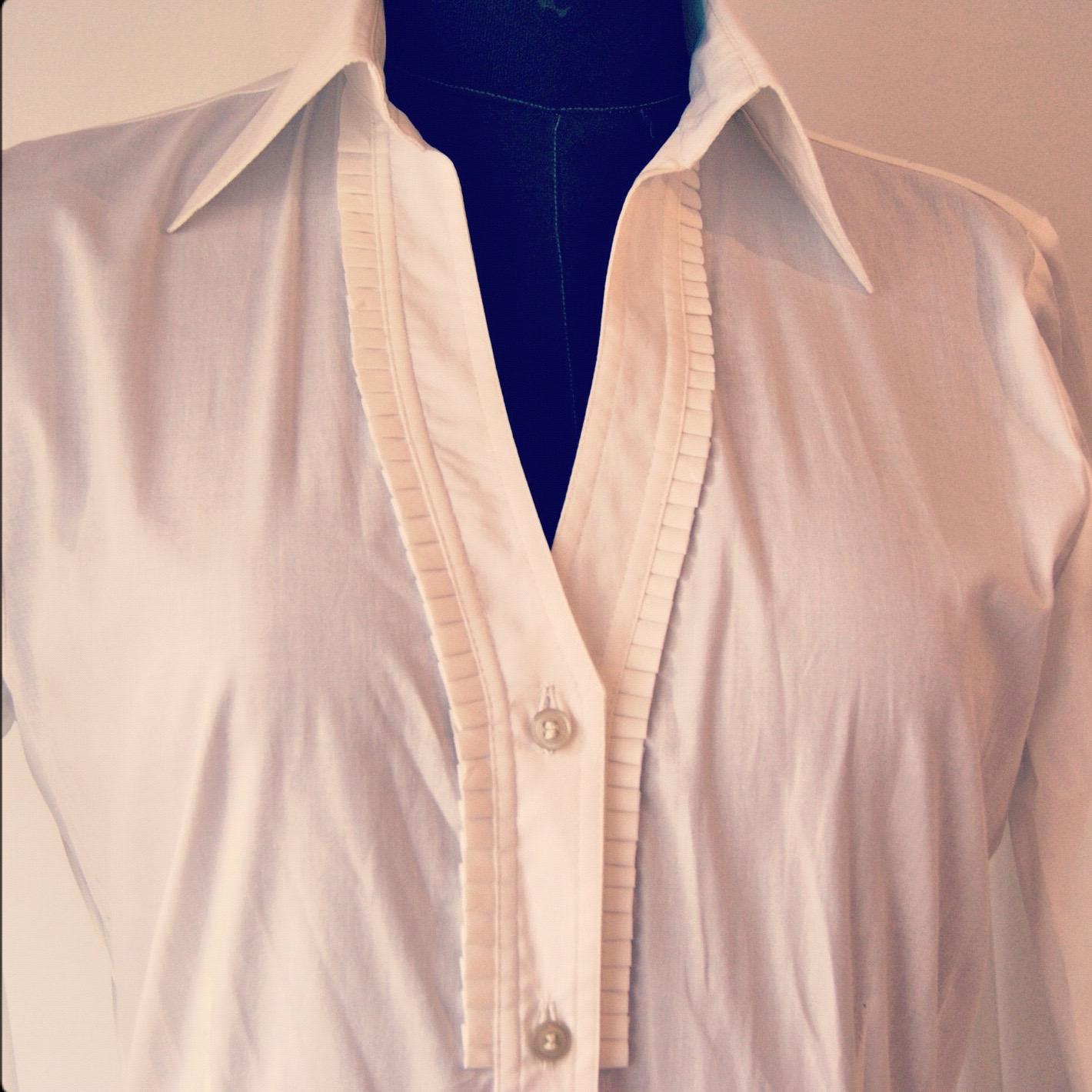 Blusa Blanca Diseño