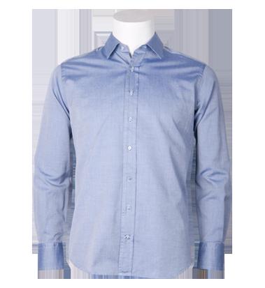 Camisa Institucional Azul Oscuro