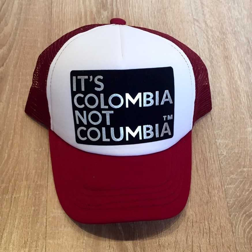 Gorras Its Colombia Not Columbia