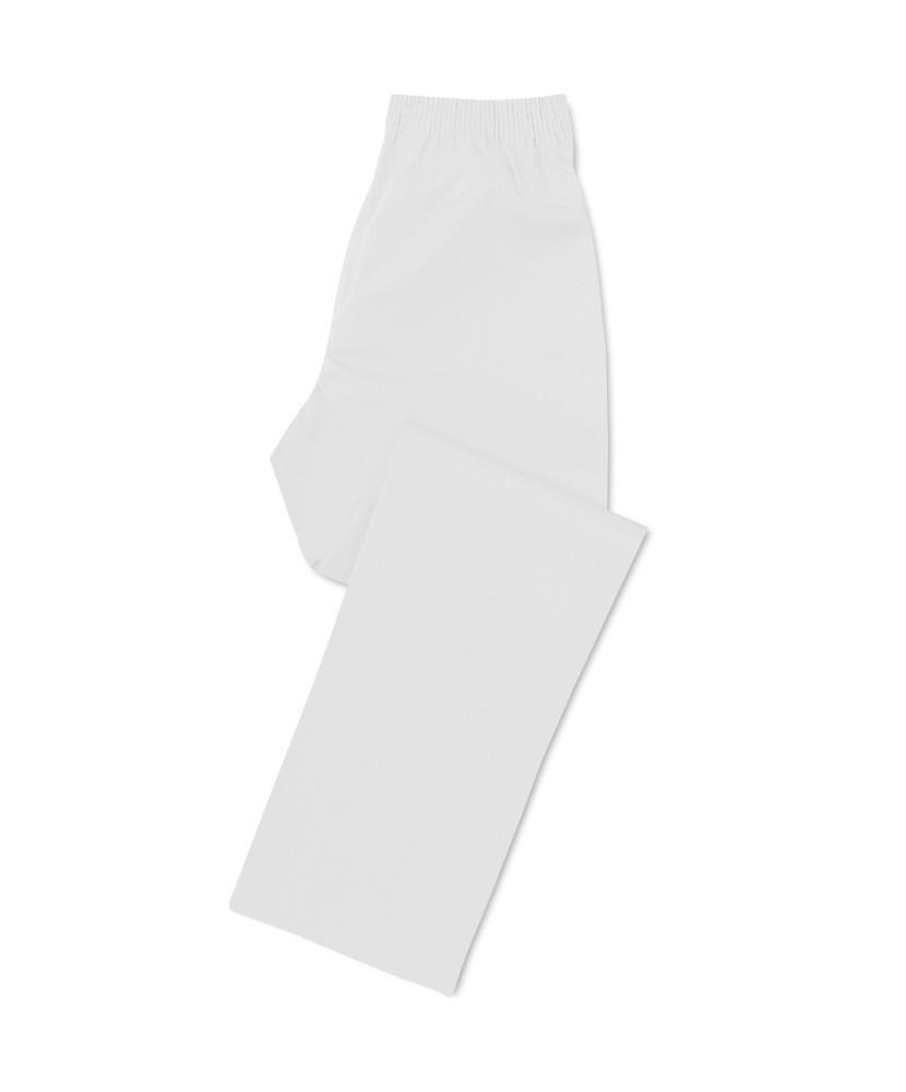 Pantalón Cocina Antifluido Blanco